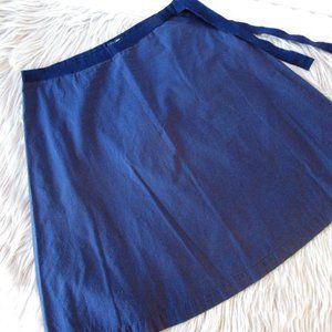 J Crew Cotton Navy blue Skirt 4
